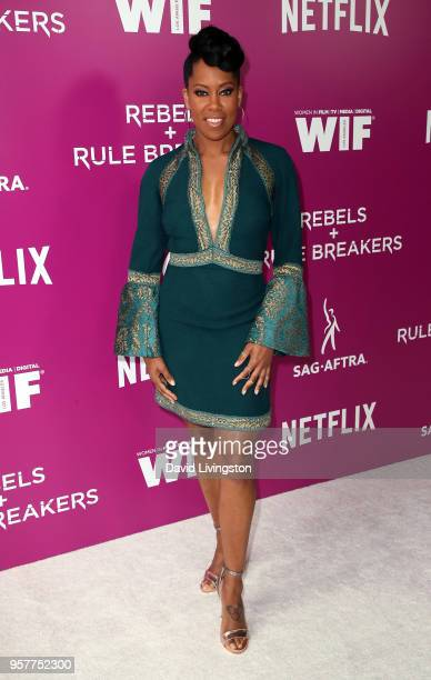 Actress Regina King attends Netflix Rebels and Rules Breakers For Your Consideration event at Netflix FYSee Space on May 12 2018 in Los Angeles...