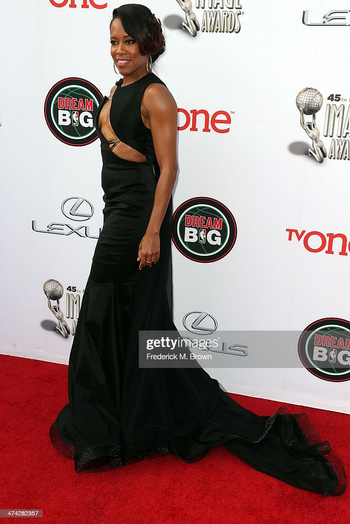 45th NAACP Image Awards Presented By TV One - Arrivals : News Photo