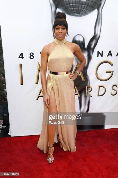 Actress Regina King attends the 48th NAACP Image Awards at Pasadena Civic Auditorium on February 11 2017 in Pasadena California