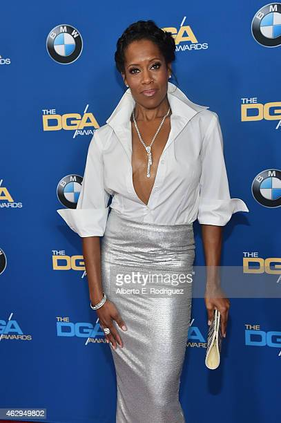 Actress Regina King attends the 67th Annual Directors Guild Of America Awards at the Hyatt Regency Century Plaza on February 7 2015 in Century City...