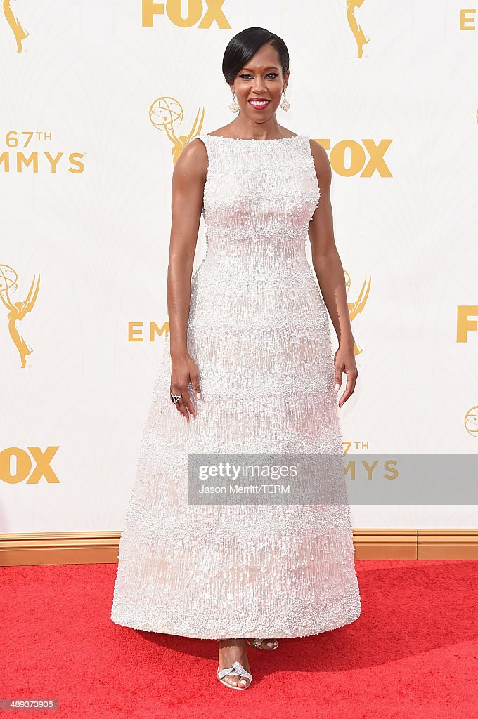 Actress Regina King attends the 67th Annual Primetime Emmy Awards at Microsoft Theater on September 20, 2015 in Los Angeles, California.