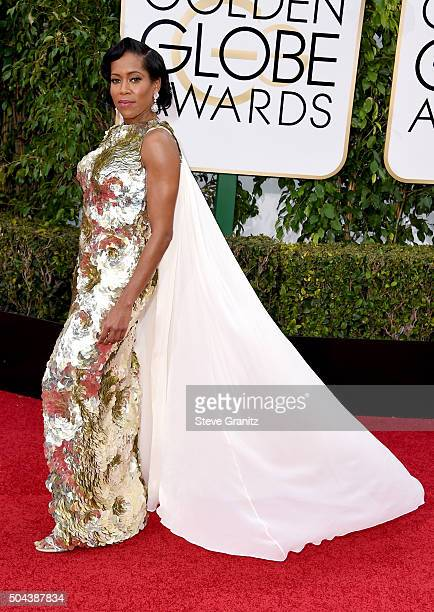 Actress Regina King attends the 73rd Annual Golden Globe Awards held at the Beverly Hilton Hotel on January 10 2016 in Beverly Hills California