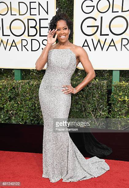 Actress Regina King attends the 74th Annual Golden Globe Awards at The Beverly Hilton Hotel on January 8 2017 in Beverly Hills California