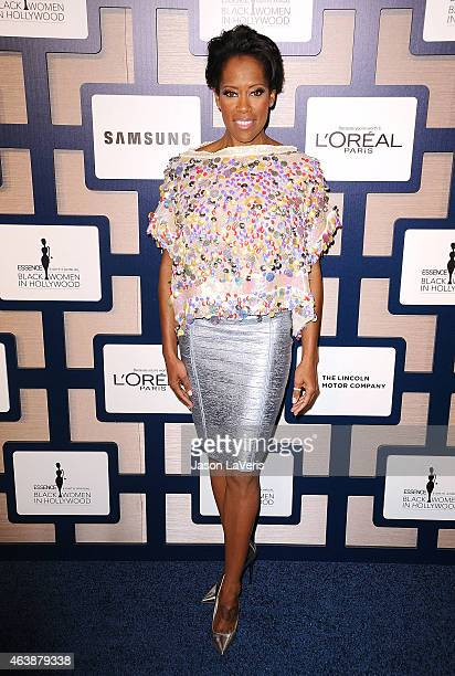Actress Regina King attends the 8th annual ESSENCE Black Women In Hollywood luncheon at the Beverly Wilshire Four Seasons Hotel on February 19 2015...