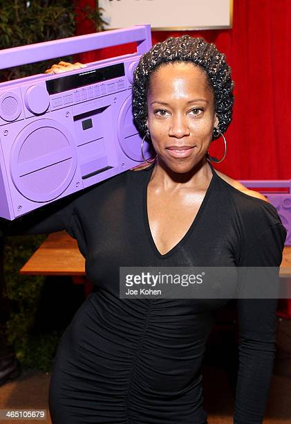 Actress Regina King attends the GRAMMY Gift Lounge during the 56th Grammy Awards at Staples Center on January 25 2014 in Los Angeles California
