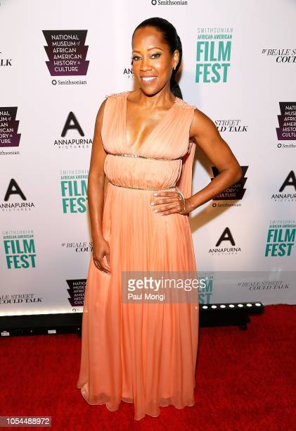 Actress Regina King attends the 'If Beale Street Could Talk' premiere at National Air and Space Museum on October 27 2018 in Washington DC