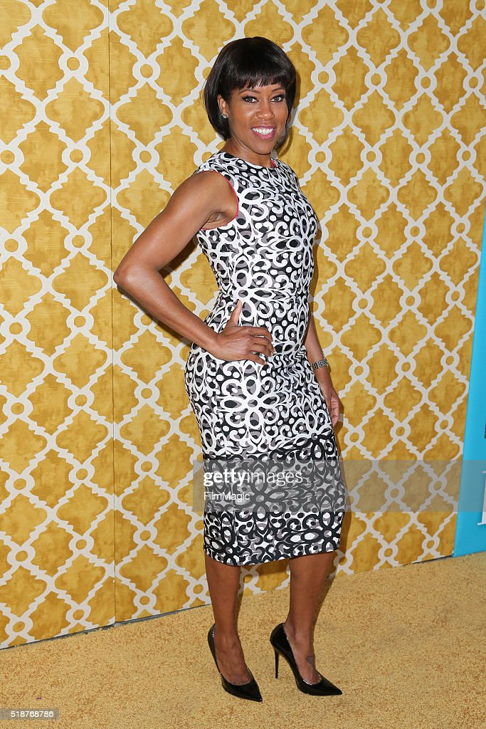 Actress Regina King attends the Los Angeles premiere of HBO Films' 'Confirmation' at Paramount Theater on the Paramount Studios lot on March 31, 2016 in Hollywood, California.