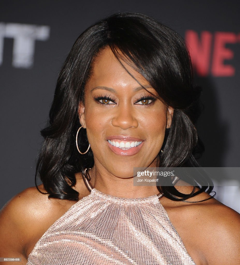 Actress Regina King attends the premiere of Netflix's 'Bright' at Regency Village Theatre on December 13, 2017 in Westwood, California.