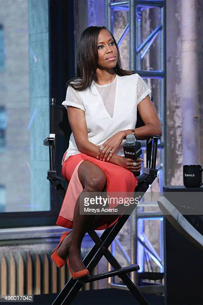 Actress Regina King discusses her role in The Leftovers at AOL Studios in New York on November 6 2015 in New York City