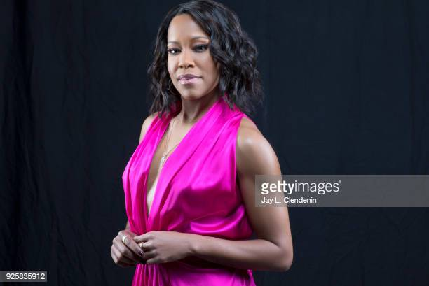 Actress Regina King is photographed for Los Angeles Times on February 13 2018 in Los Angeles California PUBLISHED IMAGE CREDIT MUST READ Jay L...