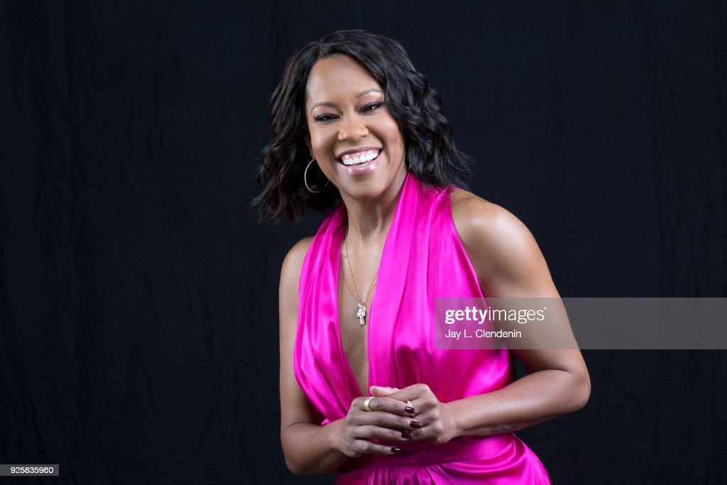 Actress Regina King is photographed for Los Angeles Times on February 13, 2018 in Los Angeles, California. PUBLISHED IMAGE.