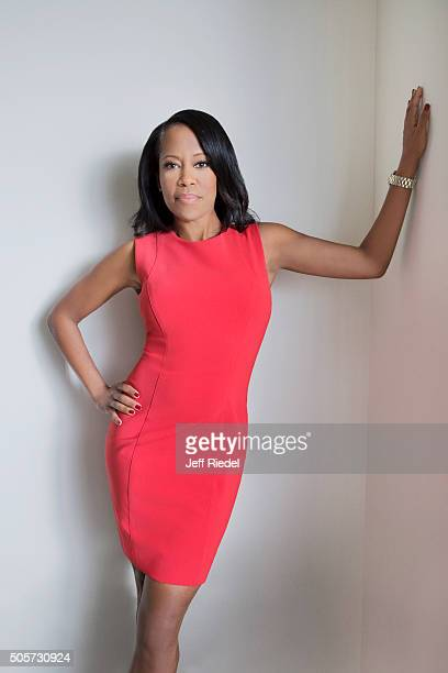 Actress Regina King is photographed for TV Guide Magazine on January 14 2015 in Pasadena California