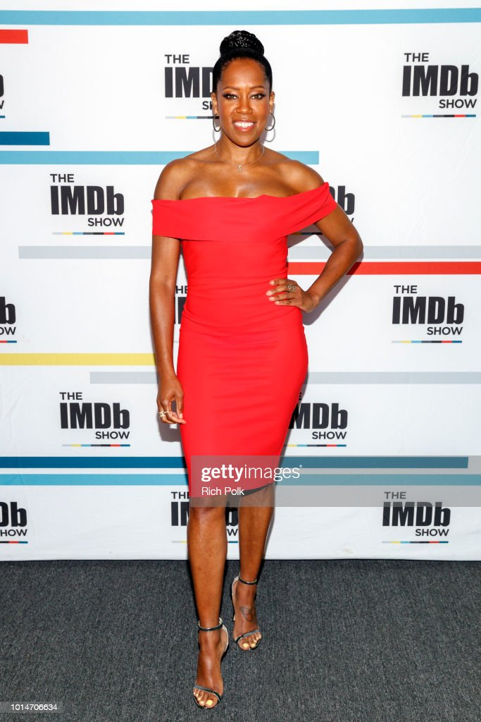 Actress Regina King visits 'The IMDb Show' on August 7, 2018 in Studio City, California. This episode of 'The IMDb Show' airs on August 16, 2018.