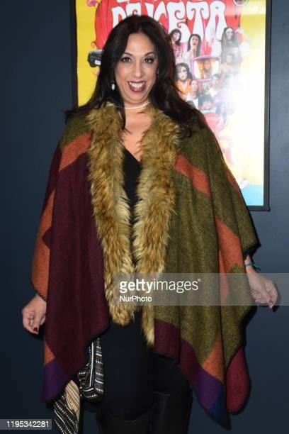 Actress Regina Orozco poses for photos during the photocall of 'El Viaje de Keta' at Le Cinema IFAL on January 22 2020 in Mexico City Mexico