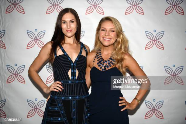Actress Reid Cox and Project Heal Co-Founder Kristina Saffran arrives at Project Heal's 4th Annual Gala at Private Residence on September 7, 2018 in...