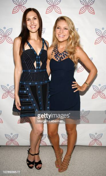 Actress Reid Cox left and Project Heal CoFounder Kristina Saffran arrive at Project Heal's 4th Annual Gala at Private Residence on September 7 2018...