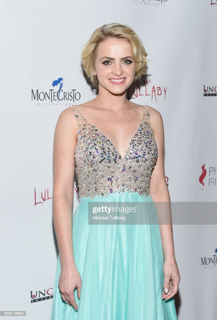 Actress Reine Swart attends the premiere of Uncork'd Entertainment's 'The Lullaby' at Laemmle's Ahrya Fine Arts Theatre on March 1, 2018 in Beverly Hills, California.