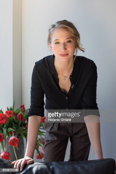 Actress Reka Tenki is photographed for Self Assignment on February 11 2017 in Berlin Germany