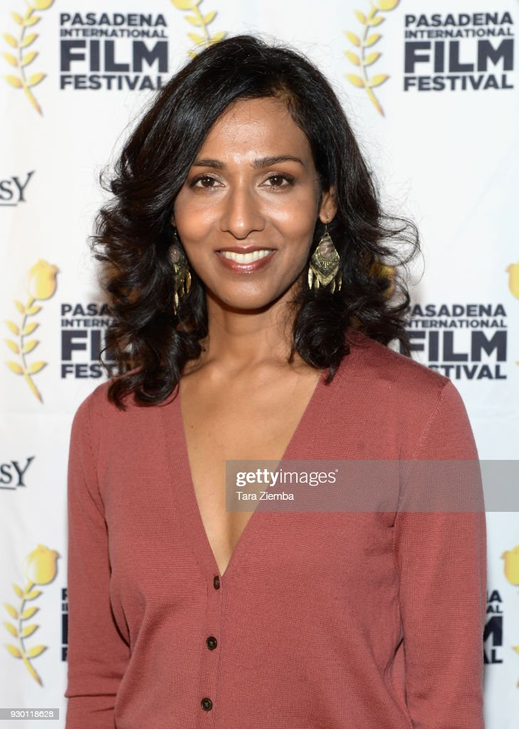 Actress Rekha Sharma attends Pasadena International Film Festival `Buckout Road` premiere at Laemmle Playhouse 7 on March 9 2018 in Pasadena...