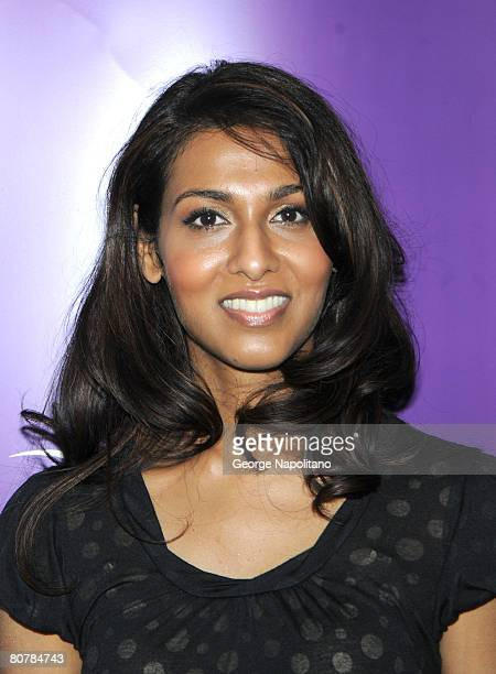 Actress Rekha Sharma attends The Sci-Fi Channel Presents Battlestar Galactica at New York ComicCon at the Jacob Javits Center on April 19, 2008 in...