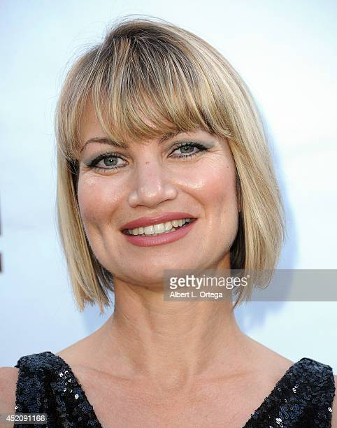 Actress Rena Riffel arrives for the 2014 Etheria Film Night held at American Cinematheque's Egyptian Theatre on July 12 2014 in Hollywood California