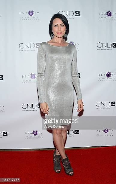 Actress Rena Sofer attends the 2013 Legacy of Style Award Ceremony at The Peninsula Hotel on September 23 2013 in Beverly Hills California