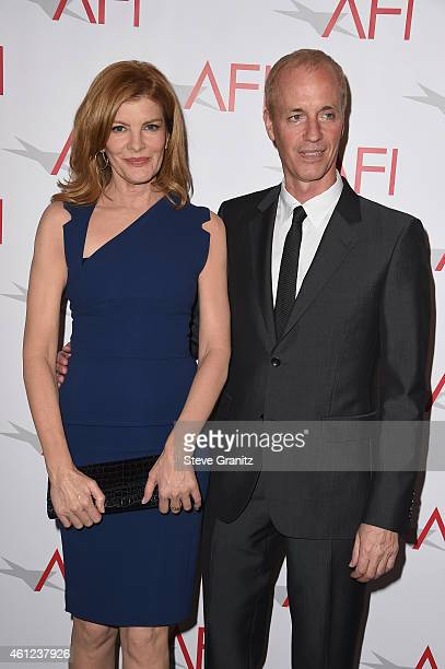 Actress Rene Russo and filmmaker Dan Gilroy attend the 15th Annual AFI Awards at Four Seasons Hotel Los Angeles at Beverly Hills on January 9, 2015...