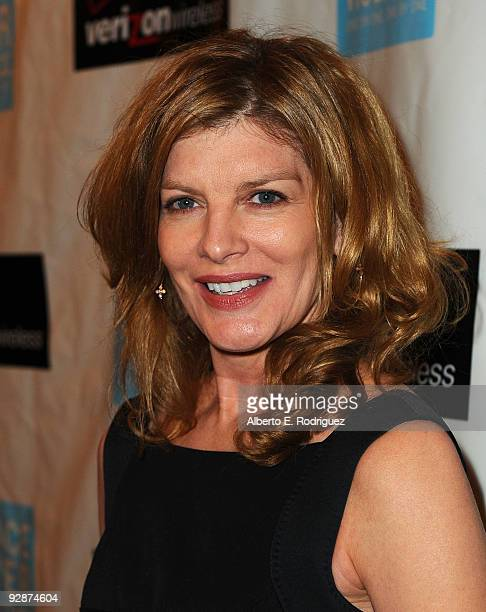 Actress Rene Russo arrives at Peace Over Violence's 38th Annual Humanitarian Awards Dinner on November 6 2009 in Beverly Hills California
