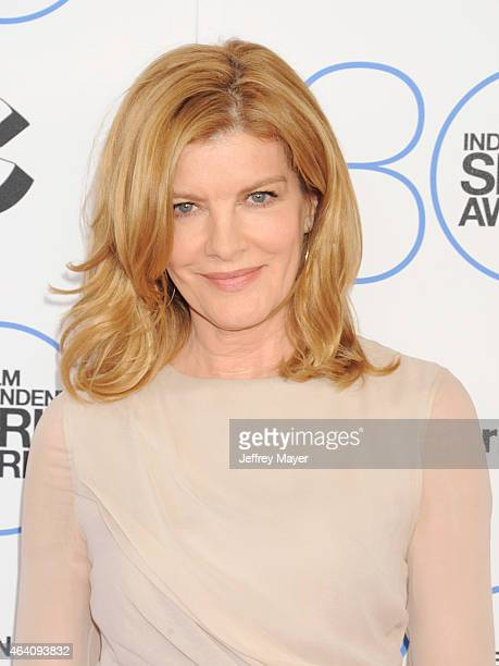 Actress Rene Russo arrives at the 2015 Film Independent Spirit Awards on February 21 2015 in Santa Monica California