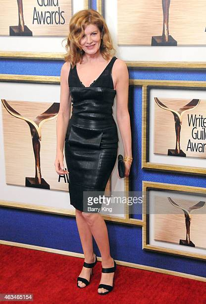 Actress Rene Russo arrives at the 2015 Writers Guild Awards at the Hyatt Regency Century Plaza on February 14 2015 in Los Angeles California