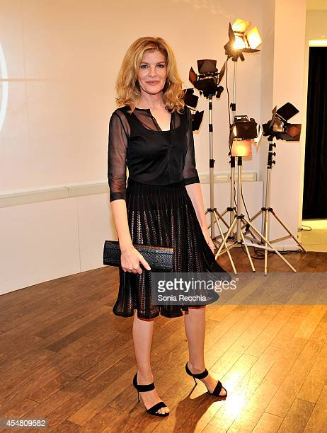 Actress Rene Russo attends a Variety dinner celebrating Jake Gyllenhaal at Holt Renfrew during the 2014 Toronto International Film Festival on...