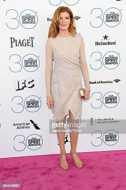 Actress Rene Russo attends the 2015 Film Independent Spirit Awards at Santa Monica Beach on February 21 2015 in Santa Monica California