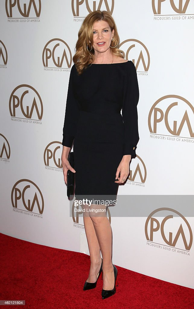 Actress Rene Russo attends the 26th Annual Producers Guild of America Awards at the Hyatt Regency Century Plaza on January 24, 2015 in Los Angeles, California.