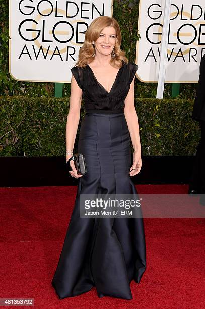 Actress Rene Russo attends the 72nd Annual Golden Globe Awards at The Beverly Hilton Hotel on January 11 2015 in Beverly Hills California