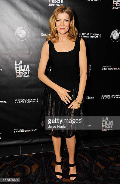 Actress Rene Russo attends the Frank and Cindy screening during the 2015 Los Angeles Film Festival at Regal Cinemas LA Live on June 16 2015 in Los...