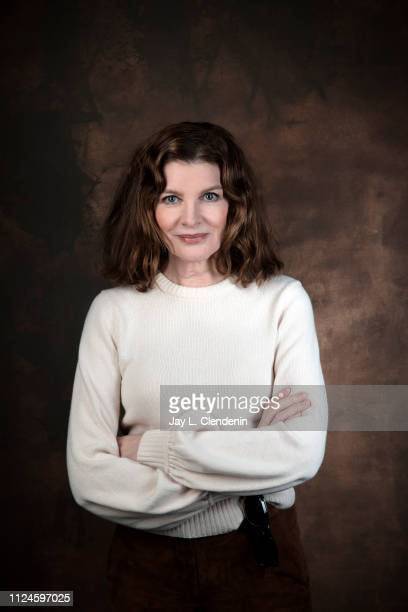 Actress Rene Russo from 'Velvet Buzzsaw' is photographed for Los Angeles Times on January 27 2019 at the 2019 Sundance Film Festival in Salt Lake...