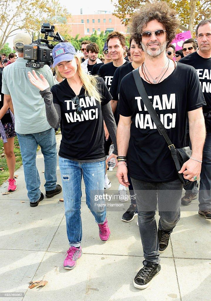 "Nanci Ryder's ""Team Nanci"" At The 13th Annual LA County Walk To Defeat ALS : News Photo"