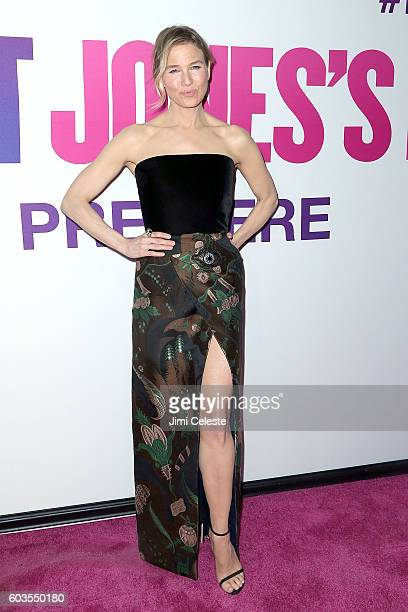 Actress Rene Zellweger attends Universal Pictures and Working Title Films Present the American Premiere of 'Bridget Jones's Baby' at The Paris...