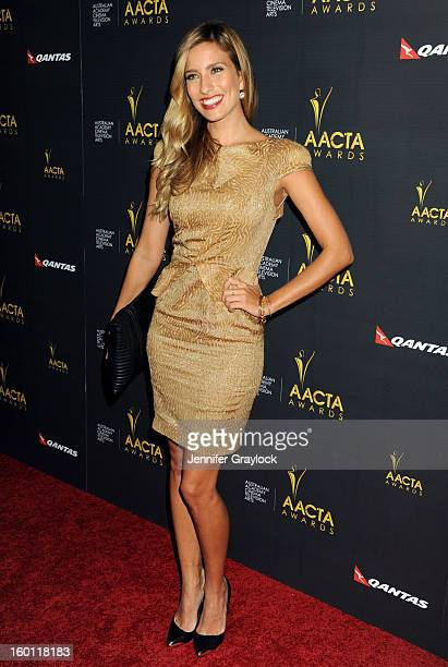 Actress Renee Bargh attends the 2nd Annual AACTA International Awards held at the Soho House on Saturday January 26 2013 in West Hollywood California