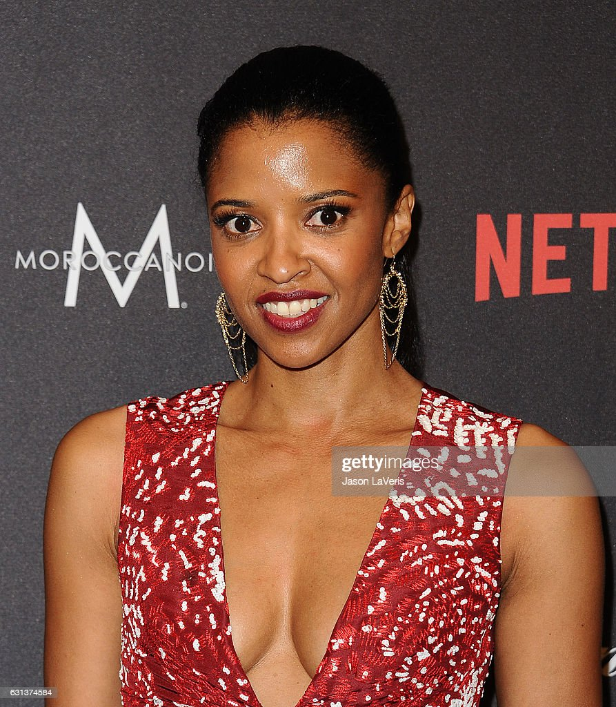 Actress Renee Elise Goldsberry attend the 2017 Weinstein Company and Netflix Golden Globes after party on January 8, 2017 in Los Angeles, California.