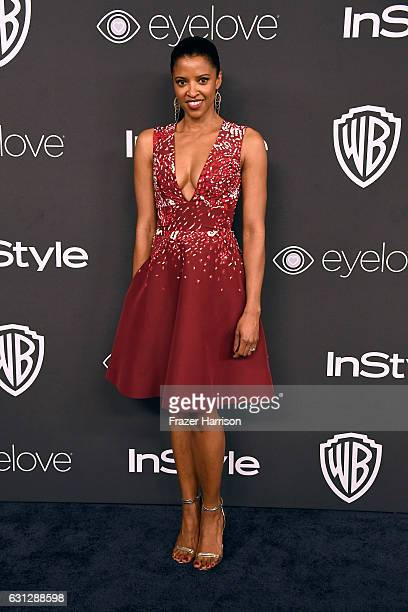 Actress Renee Elise Goldsberry attends the 18th Annual PostGolden Globes Party hosted by Warner Bros Pictures and InStyle at The Beverly Hilton Hotel...