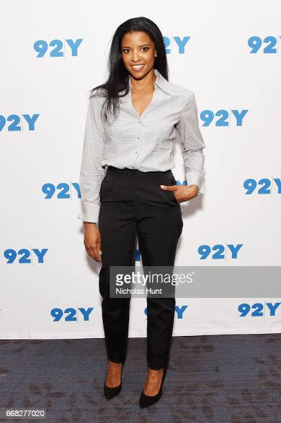 Actress Renee Elise Goldsberry attends the 92nd Street Y Presents 'The Immortal Life of Henrietta Lacks' at 92nd Street Y on April 13 2017 in New...