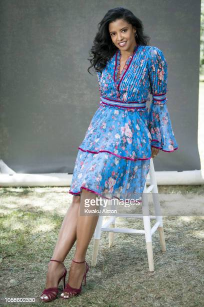 Actress Renee Elise Goldsberry is photographed for The Hollywood Reporter on April 17 2018 in Los Angeles California