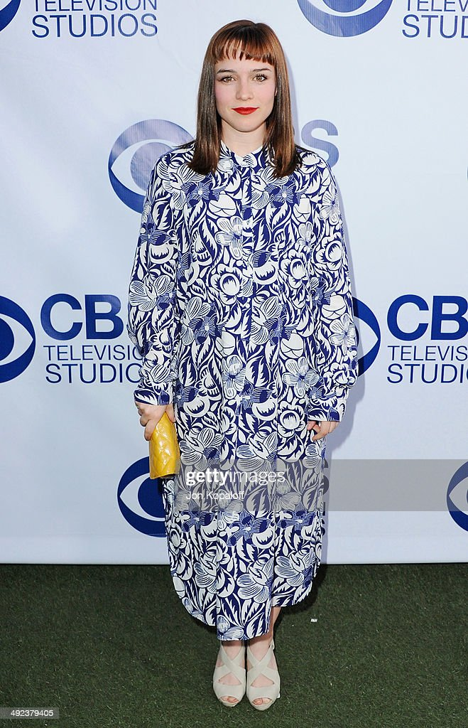 Actress Renee Felice Smith arrives at the CBS Summer Soiree at The London West Hollywood on May 19, 2014 in West Hollywood, California.