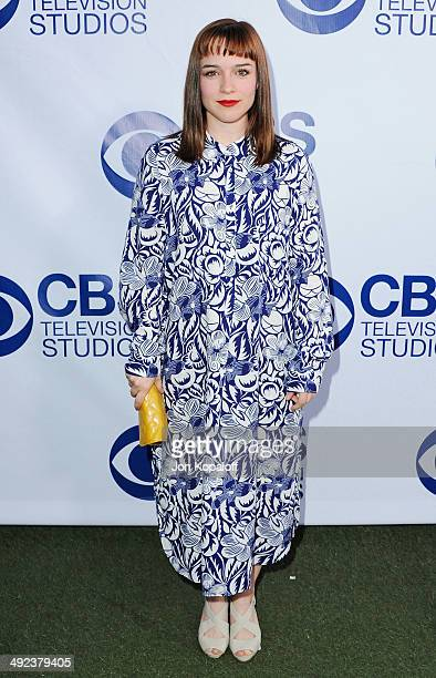 Actress Renee Felice Smith arrives at the CBS Summer Soiree at The London West Hollywood on May 19 2014 in West Hollywood California