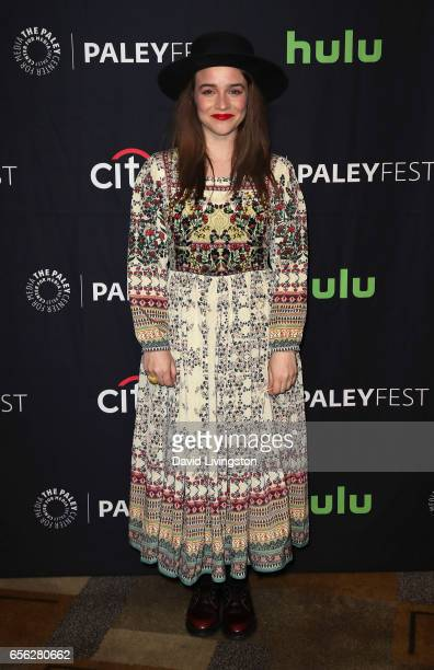 Actress Renee Felice Smith attends The Paley Center for Media's 34th Annual PaleyFest Los Angeles presentation of NCIS Los Angeles at Dolby Theatre...