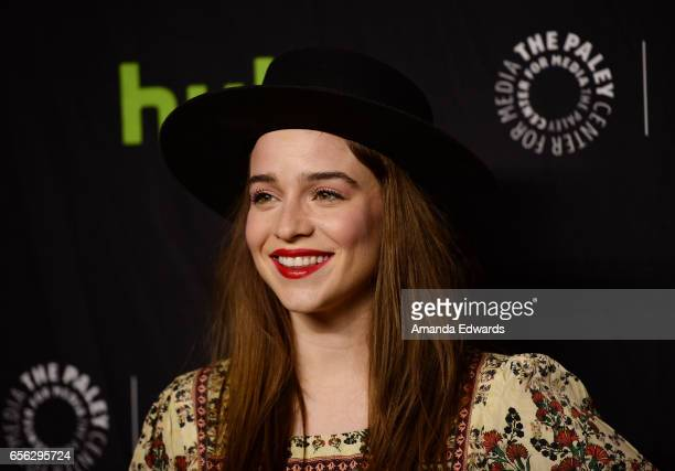 Actress Renee Felice Smith attends The Paley Center For Media's 34th Annual PaleyFest Los Angeles NCIS Los Angeles screening and panel at the Dolby...
