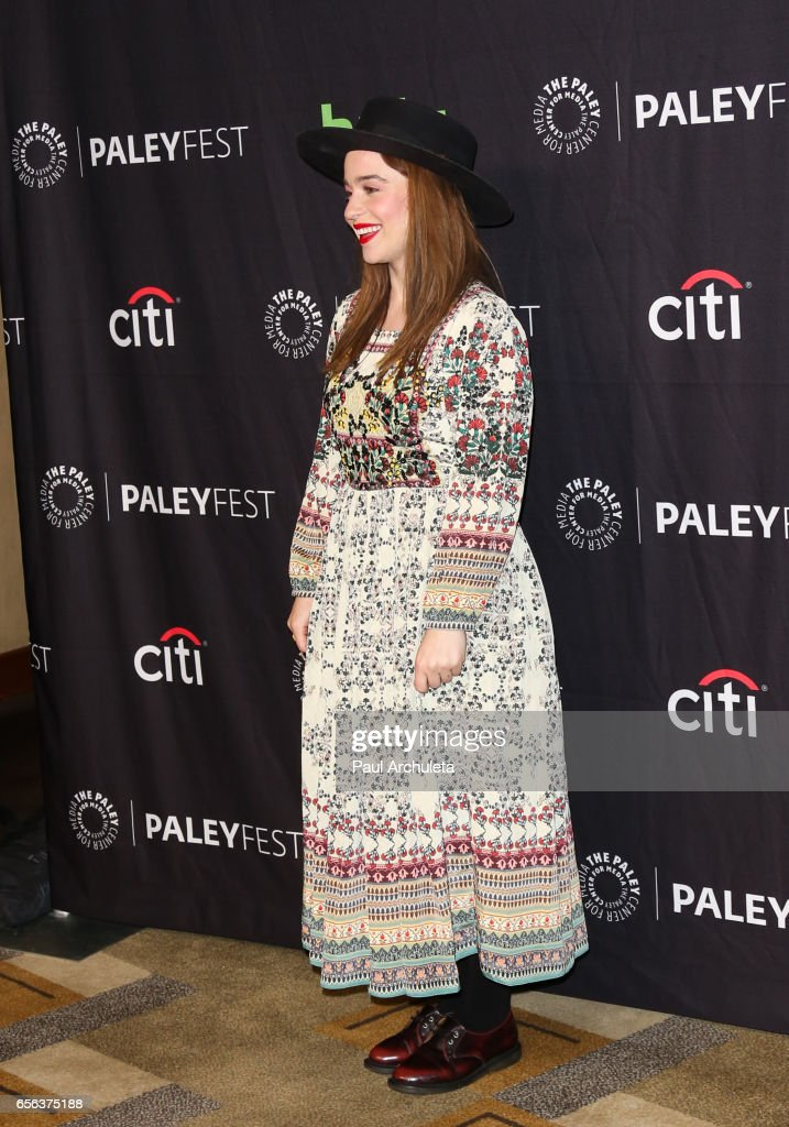 Actress Renee Felice Smith attends The Paley Center For Media's 34th Annual PaleyFest Los Angeles 'NCIS: Los Angeles' at Dolby Theatre on March 21, 2017 in Hollywood, California.