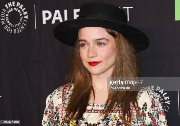 Actress Renee Felice Smith attends The Paley Center For Media's 34th Annual PaleyFest Los Angeles NCIS Los Angeles at Dolby Theatre on March 21 2017...