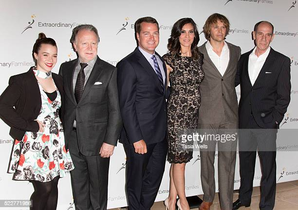 Actress Renee Felice Smith writer Shane Brennan actor Chris O'Donnell actress Daniela Rush actor Eric Christian Olsen and actor Miguel Ferrer attend...